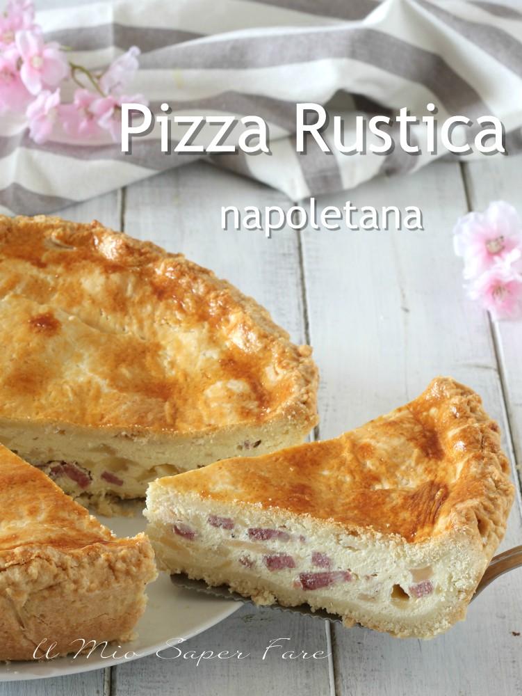 PIZZA di RICOTTA napoletana ricetta pizza chiena il mio saper fare
