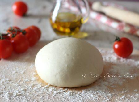 PASTA per PIZZA ricetta facile per fare la pizza in casa