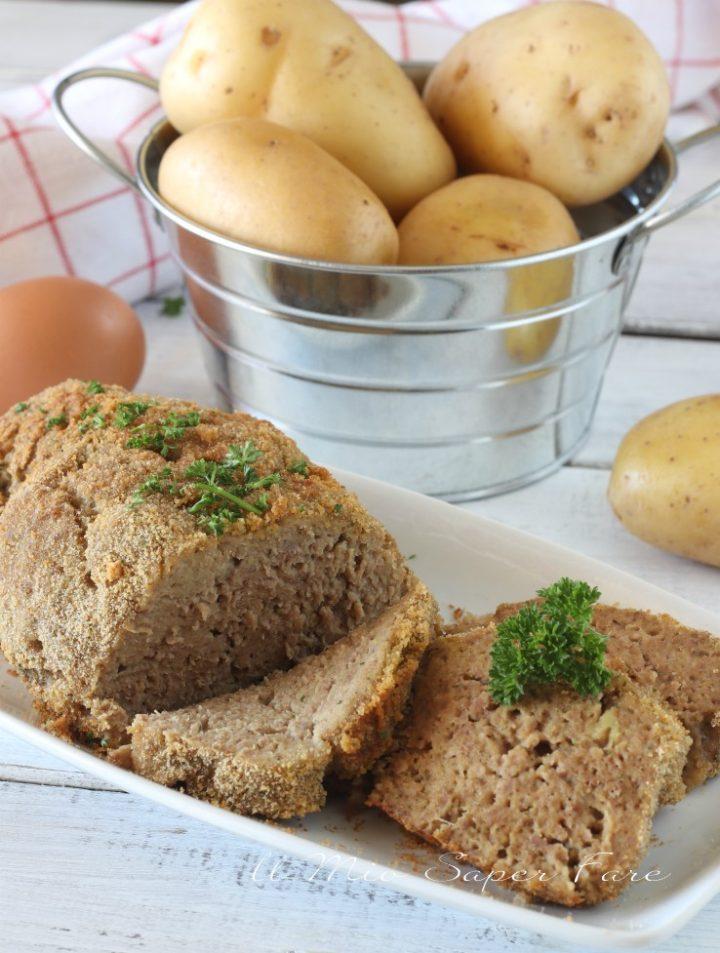 Polpettone di purè di patate ricetta il mio saper fare