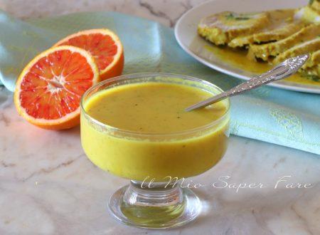 Salsa all'arancia condimento per carne e pesce