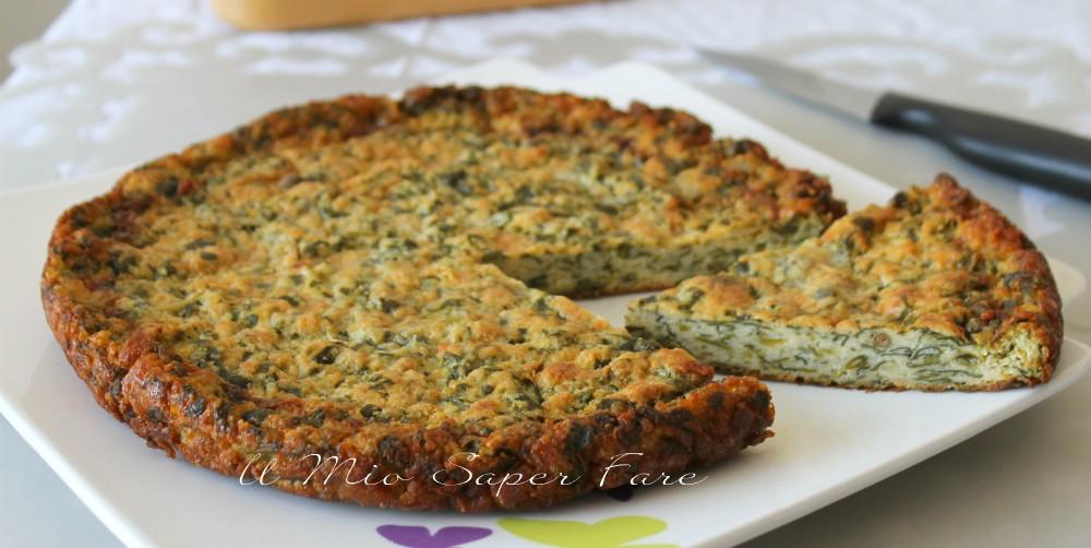 Frittata di spinaci cotta in forno ricetta il mio saper fare
