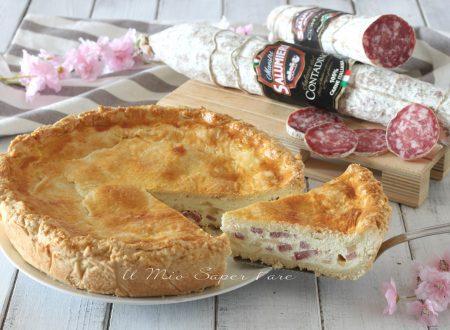 PIZZA piena con RICOTTA e SALAME Contadino Clai ricetta di Pasqua