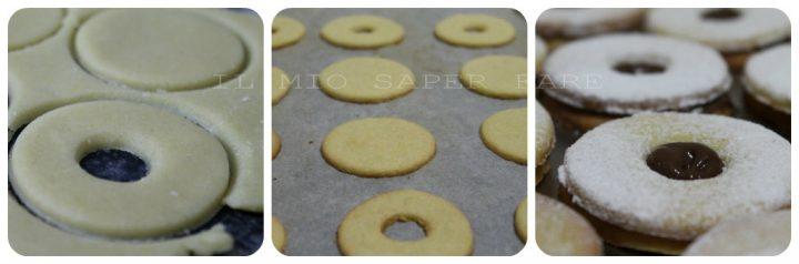 Biscotto occhio di bue alla nutella  ricetta il mio saper fare