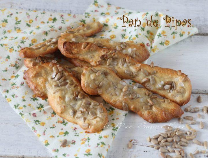 Pan de pipas ricetta impasto con semi di girasole  il mio saper fare