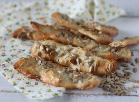 Pan de pipas ricetta impasto con semi di girasole