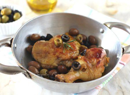 POLLO alla BIRRA con OLIVE cottura in padella