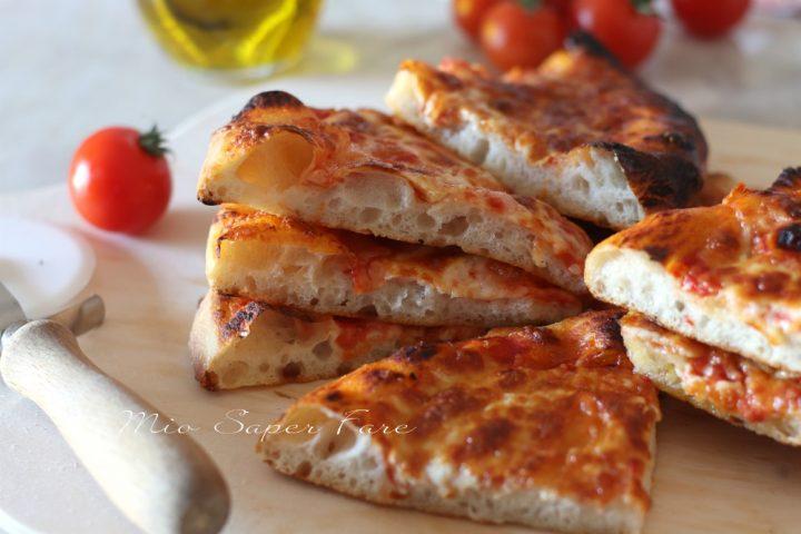 RICETTA impasto PASTA PIZZA in TEGLIA 2 g di lievito e lievitazione in frigo il mio saper fare