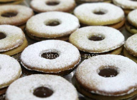 Biscotto occhio di bue alla nutella