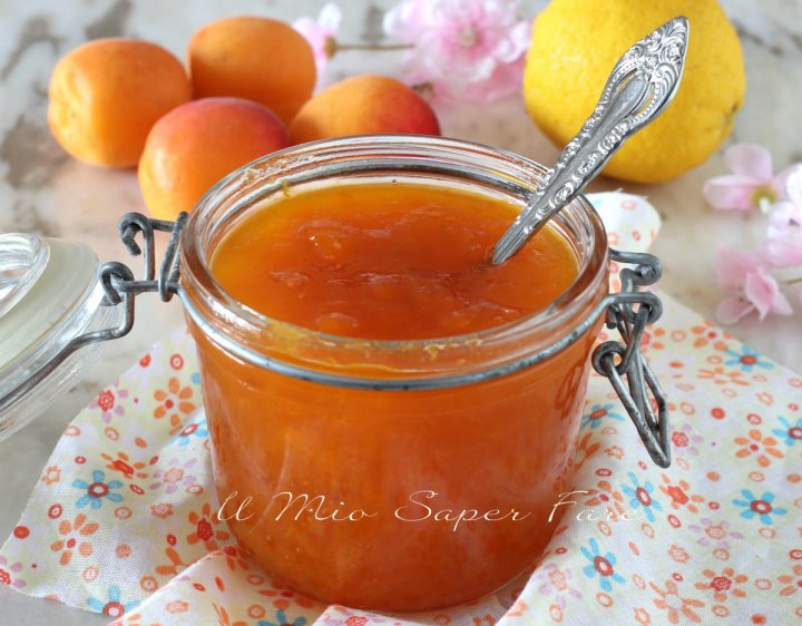 confettura di albicocche ricetta marmellata di frutta fresca il mio saper fare