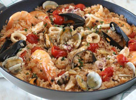 RISOTTO all'ISTRIANA  ricetta risotto di mare