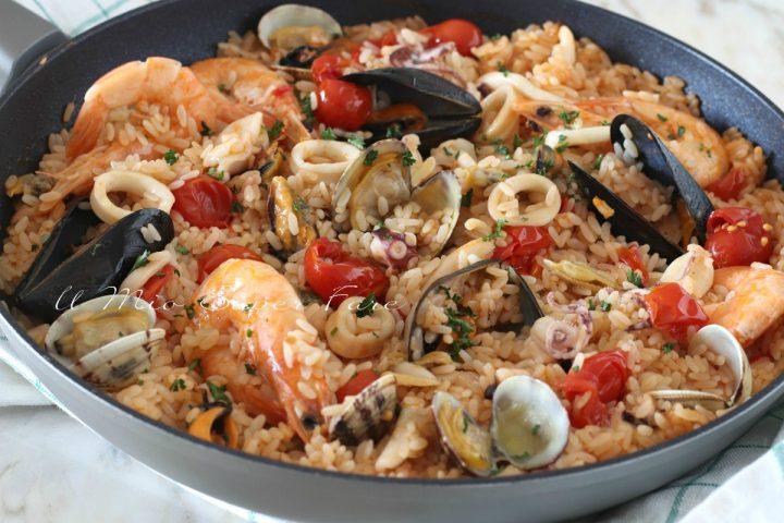 RISOTTO all'ISTRIANA  ricetta risotto di mare  il mio saper fare