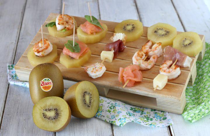 Spiedini misti per snack salati, antipasti e aperitivi il mio saper fare