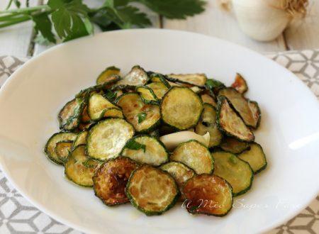 ZUCCHINE FRITTE marinate ricetta CONTORNO ANTIPASTO