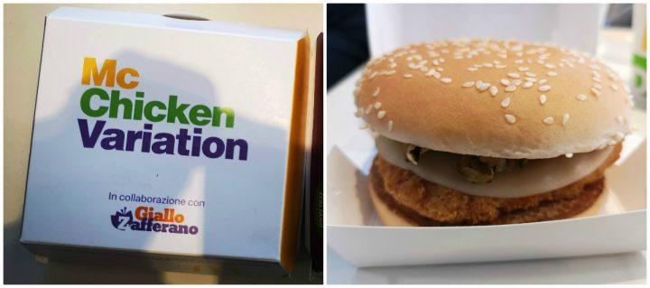 Arrivano due gustose novità McChicken Delicato e McChicken  Saporito: fate la vostra scelta!