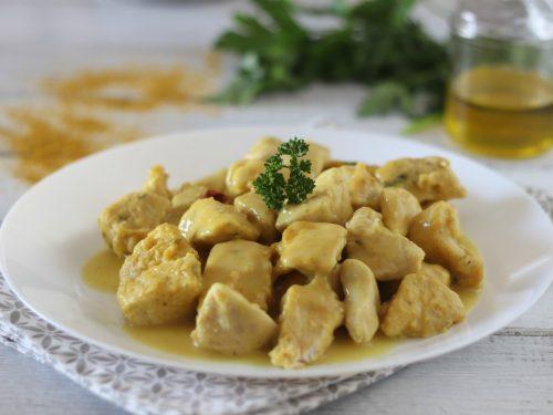 Pollo al curry senza latte ricetta senza lattosio