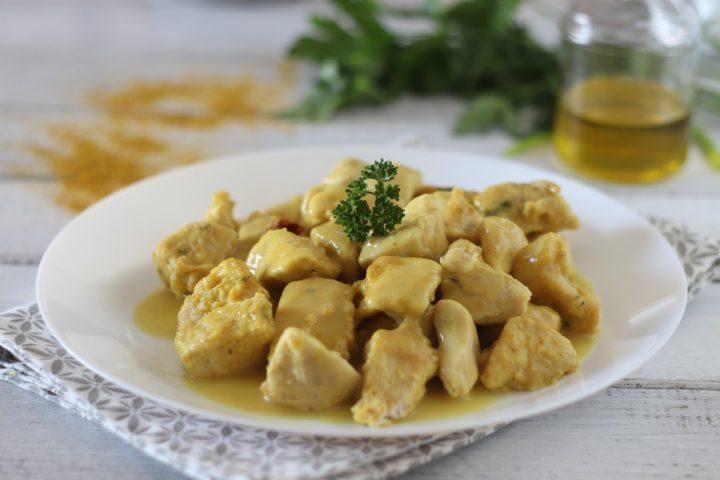 Pollo al curry senza latte ricetta senza lattosio il mio saper fare