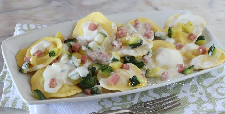 Pasta con zucchine e prosciutto cotto ricetta il mio saper fare