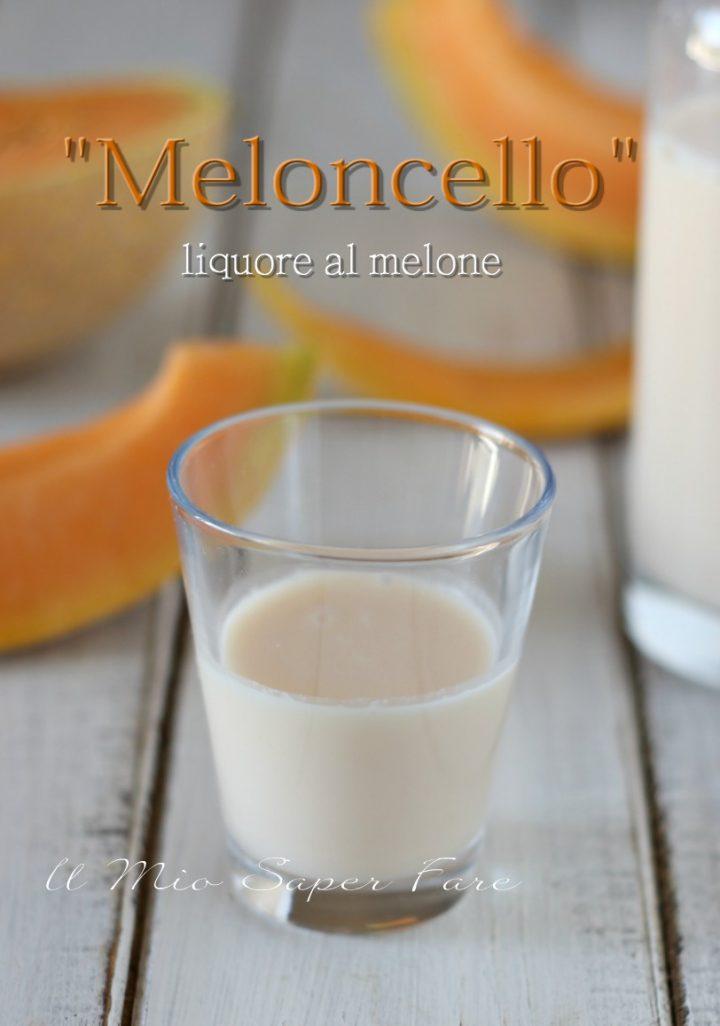LIQUORE alla CREMA di MELONE ricetta MELONCELLO fatto in casa il mio saper fare