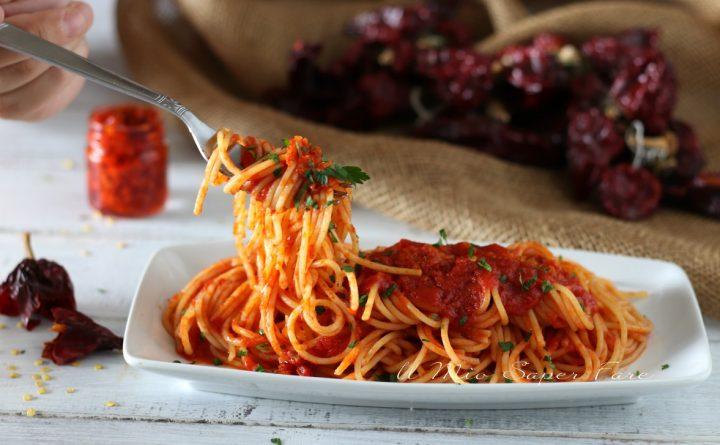 Spaghetti alla Corte d'Assise ricetta calabrese il mio saper fare