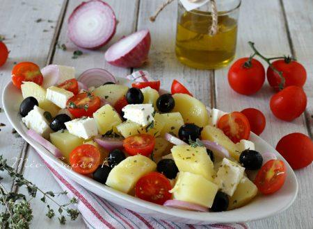 Insalata di patate alla greca ricetta senza yogurt