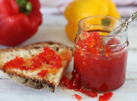 Confettura di peperoni fatta in casa