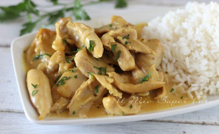 Korma di pollo ricetta indiana brasato cremoso  il mio saper fare