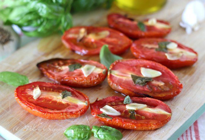 Pomodori arrosto ricetta facile contorno antipasto il mio saper fare