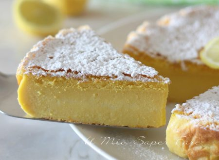 Torta al limone cremosa ricetta dolce senza farina