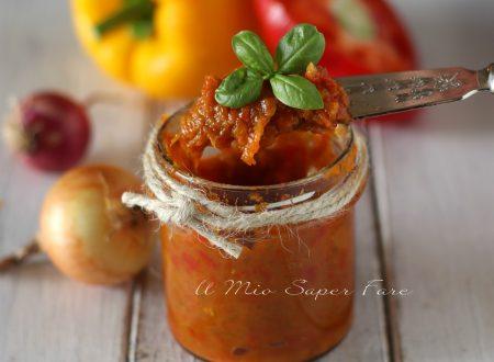 Salsa di peperoni ricetta conserva