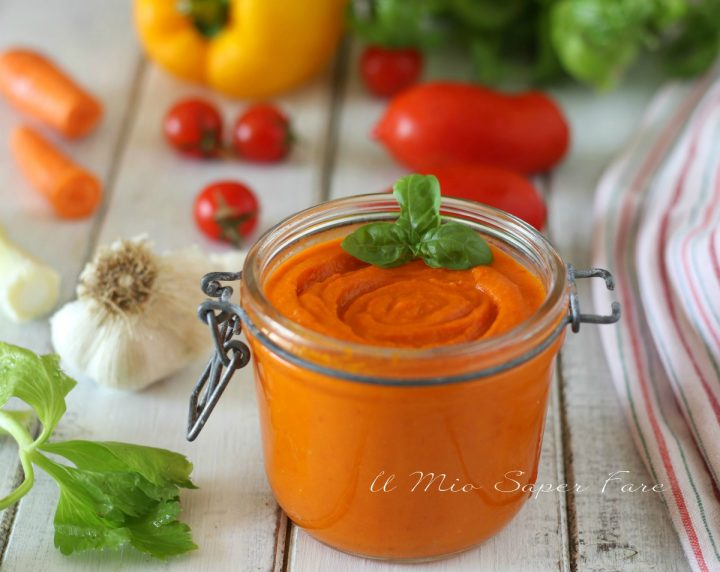 Salsa rubra ricetta salsa rossa fatta in casa il mio saper fare