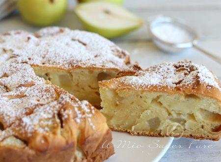 Torta pere e ricotta morbida ricetta facile