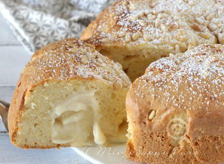 Torta della nonna morbida ricetta senza pasta frolla