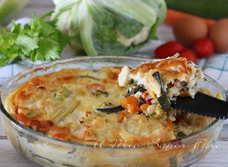 Sformato di verdure ricetta contorno vegetariano