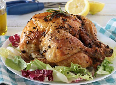 Pollo arrosto al forno come in rosticceria con il segreto della nonna