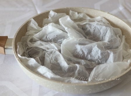 Castagne in padella con il SEGRETO della carta forno
