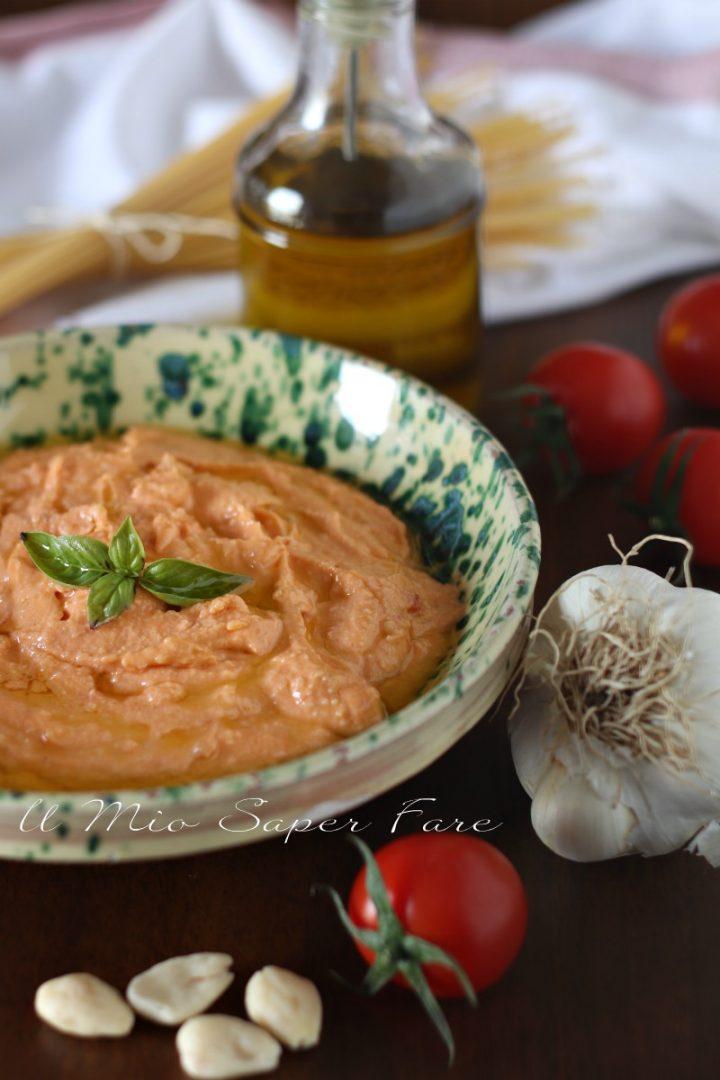 Pesto alla siciliana ricetta con ricotta e pomodori il mio saper fare