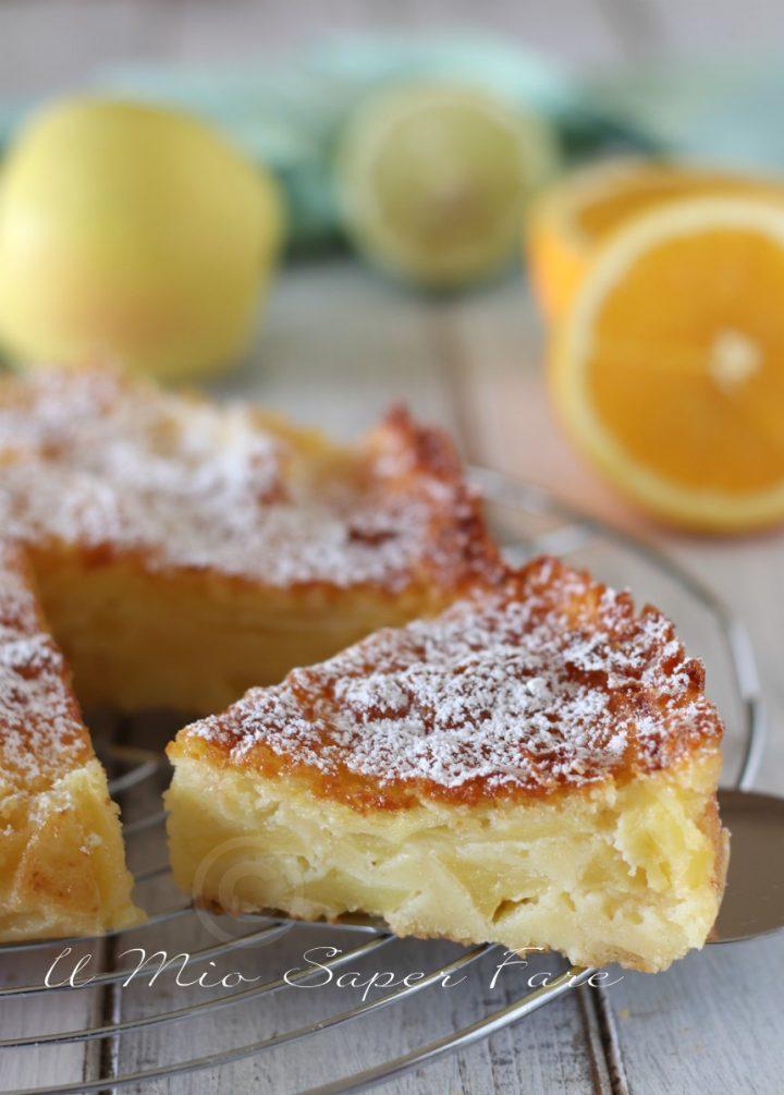 Torta di mele alla veneziana ricetta il mio saper fare