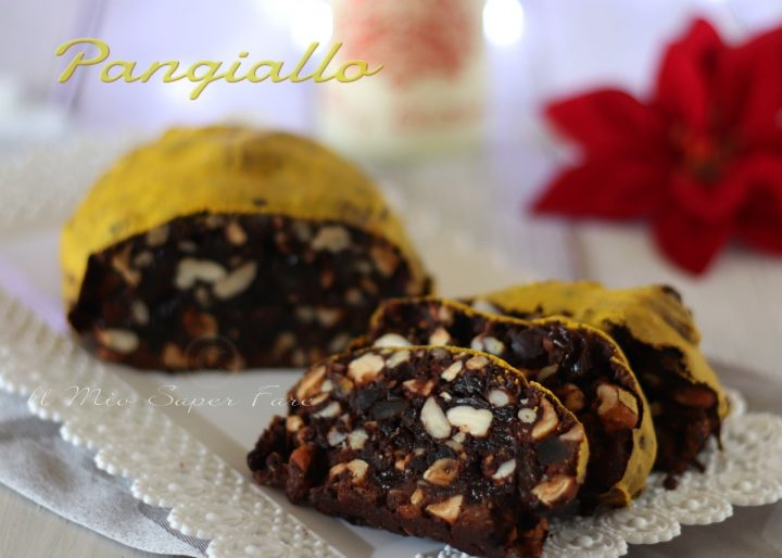 Pangiallo romano ricetta dolce natalizio laziale il mio saper fare