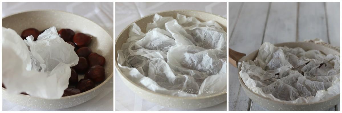 castagne in ammollo