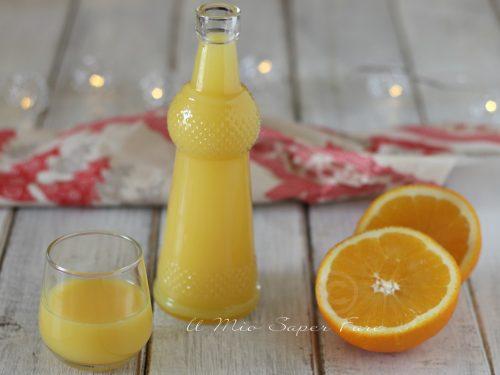 Crema di liquore alle arance ricetta senza panna