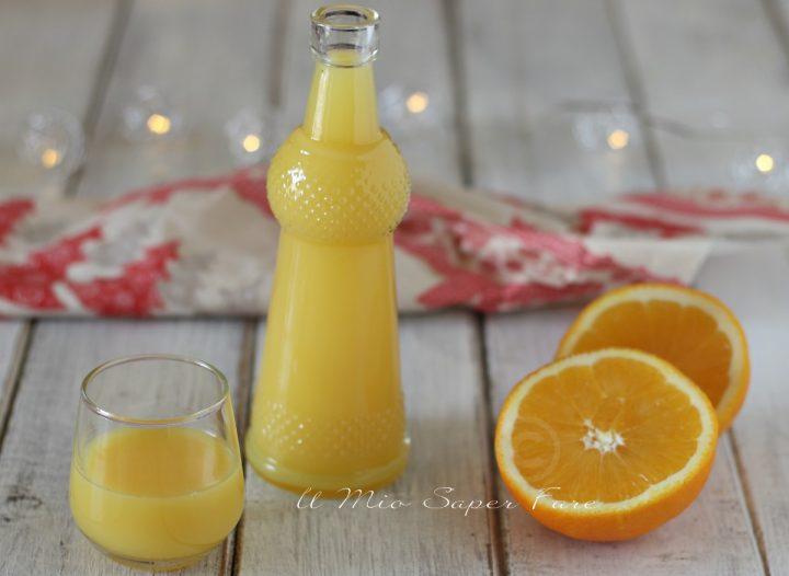 Crema di liquore alle arance ricetta senza panna il mio saper fare