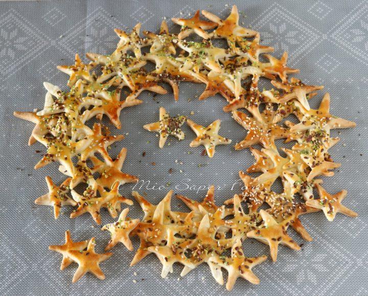Ghirlanda di stelle per antipasto natalizio il mio saper fare