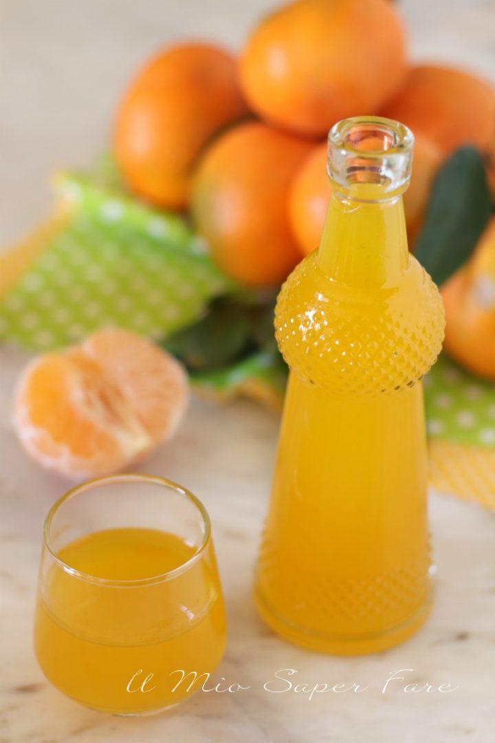 Liquore al mandarino ricetta Mandarinetto fatto in casa il mio saper fare