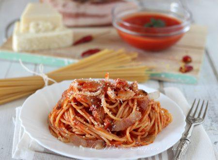 Sugo alla Amatriciana ricetta originale condimento per pasta