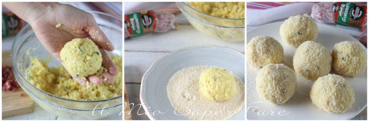 polpette di riso al forno