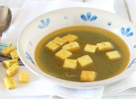 Minestra imperiale ricetta zuppa di semolino