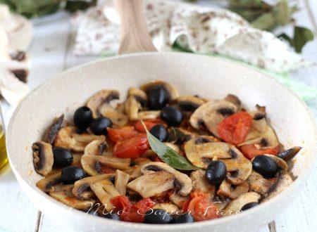 Funghi champignon alla greca ricetta antipasto contorno