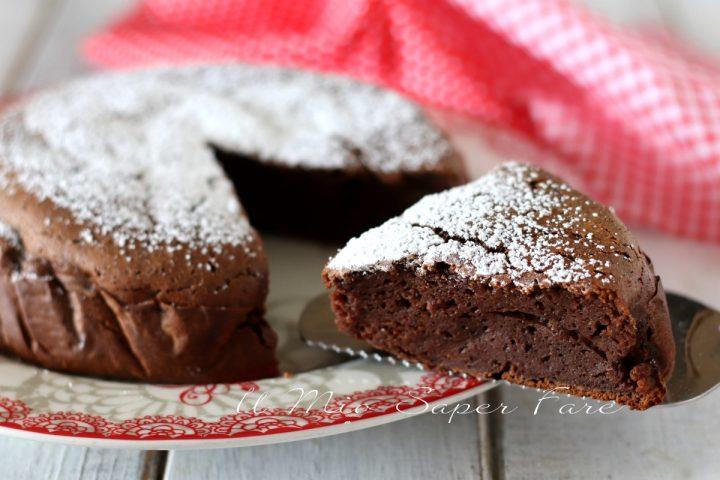 Torta di ricotta al cioccolato ricetta dolce senza glutine il mio saper fare