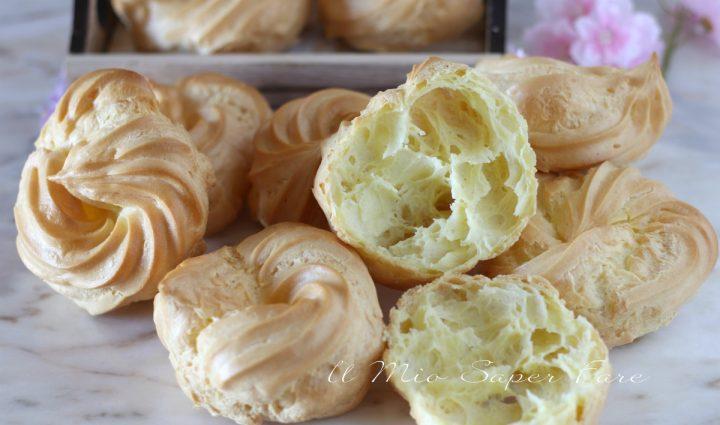 Zeppole al forno ricetta Bimby dolce di San Giuseppe il mio saper fare