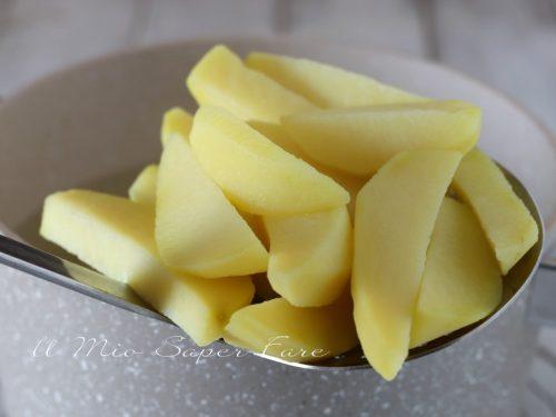 Sbianchire le patate per una cottura in forno perfetta